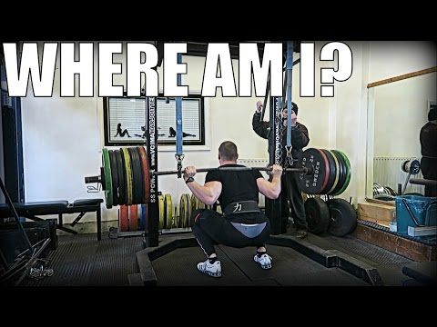 Using a Monolift & Deadlift Bar for the First Time! Road To The Meet - Ep. 4