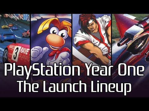 PlayStation Year One: The US Launch Lineup