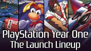 PlayStation Year One: The Launch Lineup