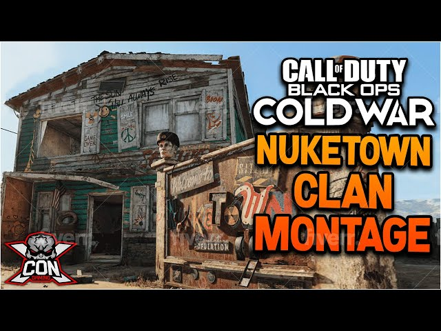 XCON GAMING-Black Ops Cold War Clan Montage