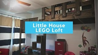 Small Metal Building Home LEGO Loft & Bunk Beds