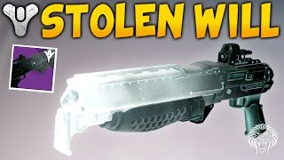 Destiny: STOLEN WILL TAKEN SHOTGUN! How To Get & Weapon Review (April Update)