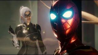 Spider-Man Reunites with Black Cat (MCU Iron Spider Suit Walkthrough) - Marvel