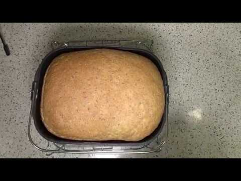 Panasonic SD-2511W Multi-Function Bread Maker | How To Make Home Made 50/50 Wholemeal Loaf