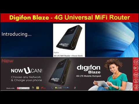 4G Universal MiFi Router in Nigeria - unlock l spectranet l smile l swift l router and mifi l