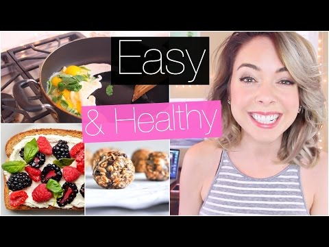 Easy + Healthy Breakfast Ideas!