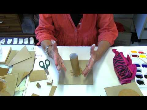 Construction with Timber or Cardboard Part 1
