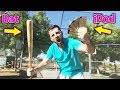 How Far Can I Hit An iPod With A Baseball Bat? IRL Baseball Challenge
