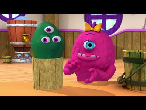 Monsters | Muddy Monster | Learn Math for Kids | Cartoons for Kids