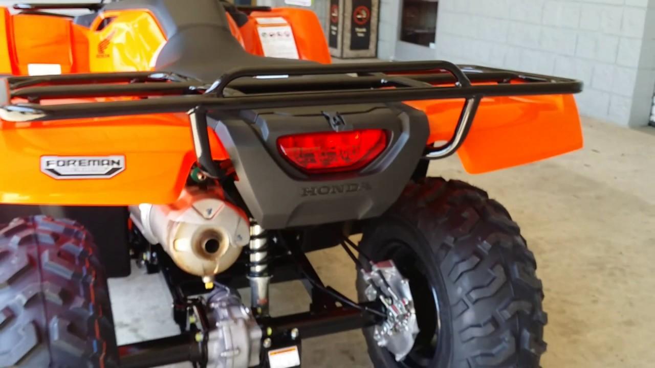 2016 Honda FourTrax Foreman 500 - ATV Walk Around Video - TRX500FM1G Orange