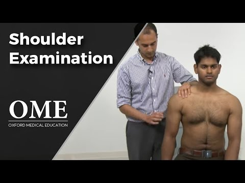 Shoulder Examination - Orthopaedics