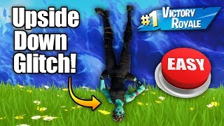 How To Make Your Character Upside Down In Fortnite Glitch *NEW* Fortnite Glitches PS4/Xbox one 2018