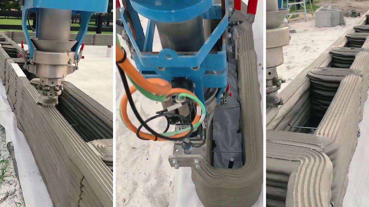 COBOD – Florida's 2021s First 3D Printed Building