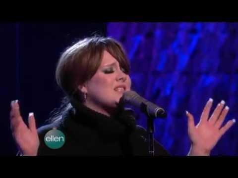 Adele - Chasing Pavements on The Ellen DeGeneres Show (10 Dec. 2008)