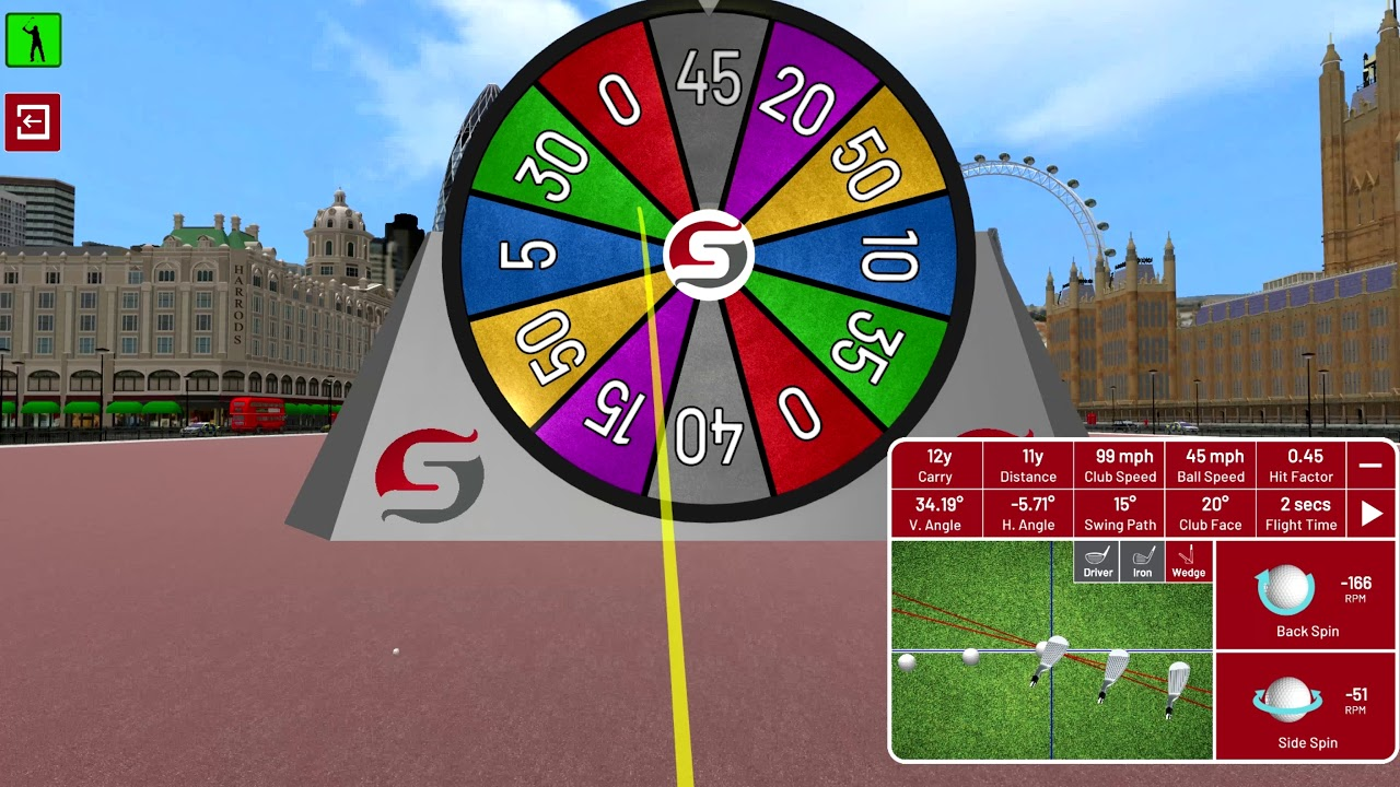 Golf Environment - London - Points Wheel