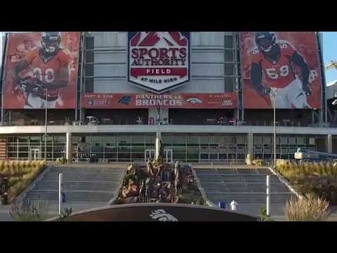 Denver Bronco Stadiums History Montage