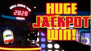 OUR BIGGEST JACKPOT EVER! -  Super Mega Zombie Bonus Win @ Arcade