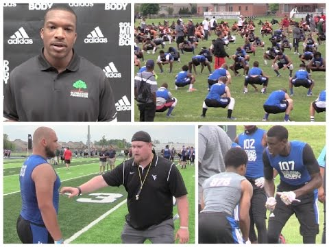 Day 2 : Sound Mind Sound Body Football Camp (Detroit, Michigan) Highlights