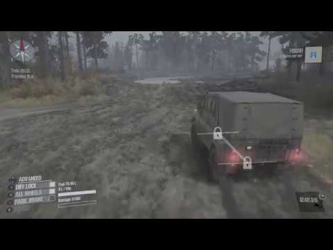 spintires mudrunner exploring on xbox one youtube. Black Bedroom Furniture Sets. Home Design Ideas