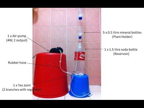 DIY Air-Lift Pump (Version 2) Experiment / DIY 에어 리프트 펌프 (버전 2) 실험 / DIY空气提升泵(第2版)试验