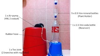 Singapore LimSan's DIY Air-Lift Pump (Version 2) / DIY 에어 리프트 펌프 (버전 2) 실험 / DIY空气提升泵(第2版)试验