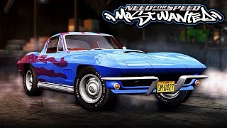 NFS Most Wanted | 1967 Chevrolet Corvette Stingray Mod Gameplay [1440p60]