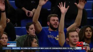 CSUB men's basketball stays hot in the WAC