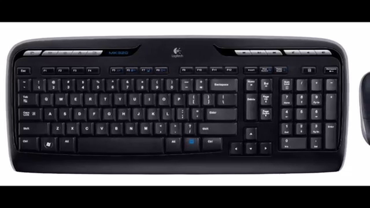 LOGITECH WIRELESS COMBO MK320 DOWNLOAD DRIVERS