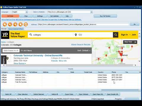Download Yellow Pages Spider Full Version Free