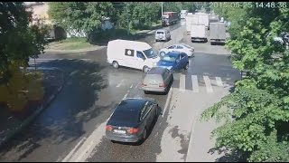 Аварии и ДТП на видеорегистратор - Сводка за неделю