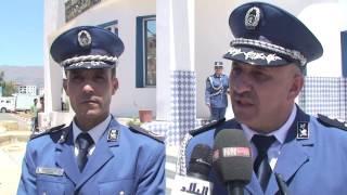 تقرير عبد الحميد دواجي المفتش الجهوي لشرطة الوسط يدشن مقرات أمنية بالبويرة  قناة نوميديا tv