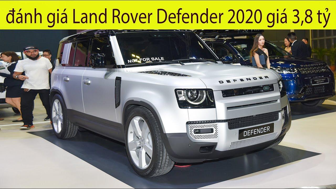 Đánh giá xe Land Rover Defender 2020 chốt giá 3,8 tỷ tại Việt Nam, Đặng lê nguyên Vũ liệu có mua?