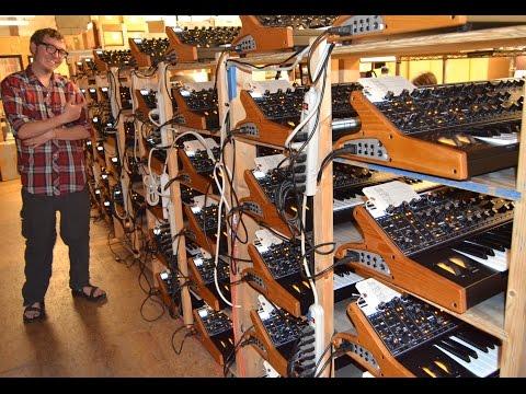 Moog Music Museum Tour - Robert Moog Synthesizer Factory -Asheville NC