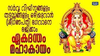 സർവ്വ വിഘ്നങ്ങളും തടസ്സങ്ങളും ഒഴിയുവാൻ ശ്രീഗണപതി ഭഗവാനെ ഭജിക്കാം | Eakadantham Mahakaayam
