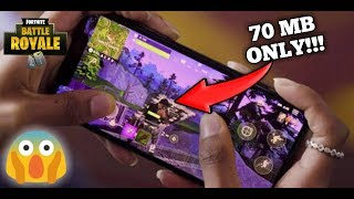[70 MB] Download New Fortnite Mobile Copy On Your Android Device