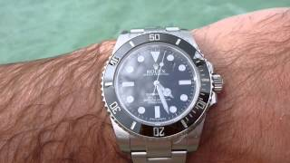 2013 Rolex Submariner NON-DATE Review - Cayman Islands