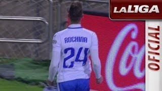 Gol de Rochina (3-2) en el Real Zaragoza - RCD Mallorca - HD