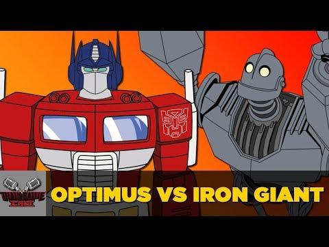Optimus Prime VS Iron Giant | DEATH BATTLE Cast