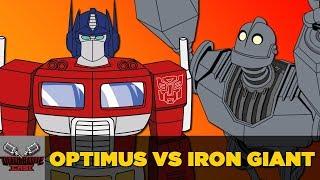 Optimus Prime VS Iron Giant | DEATH BATTLE Cast thumbnail