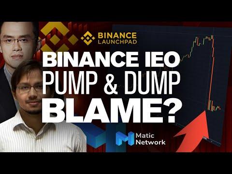 Matic's Epic PUMP & Dump!!  Fault? Binance, Whales Or Matic Team?