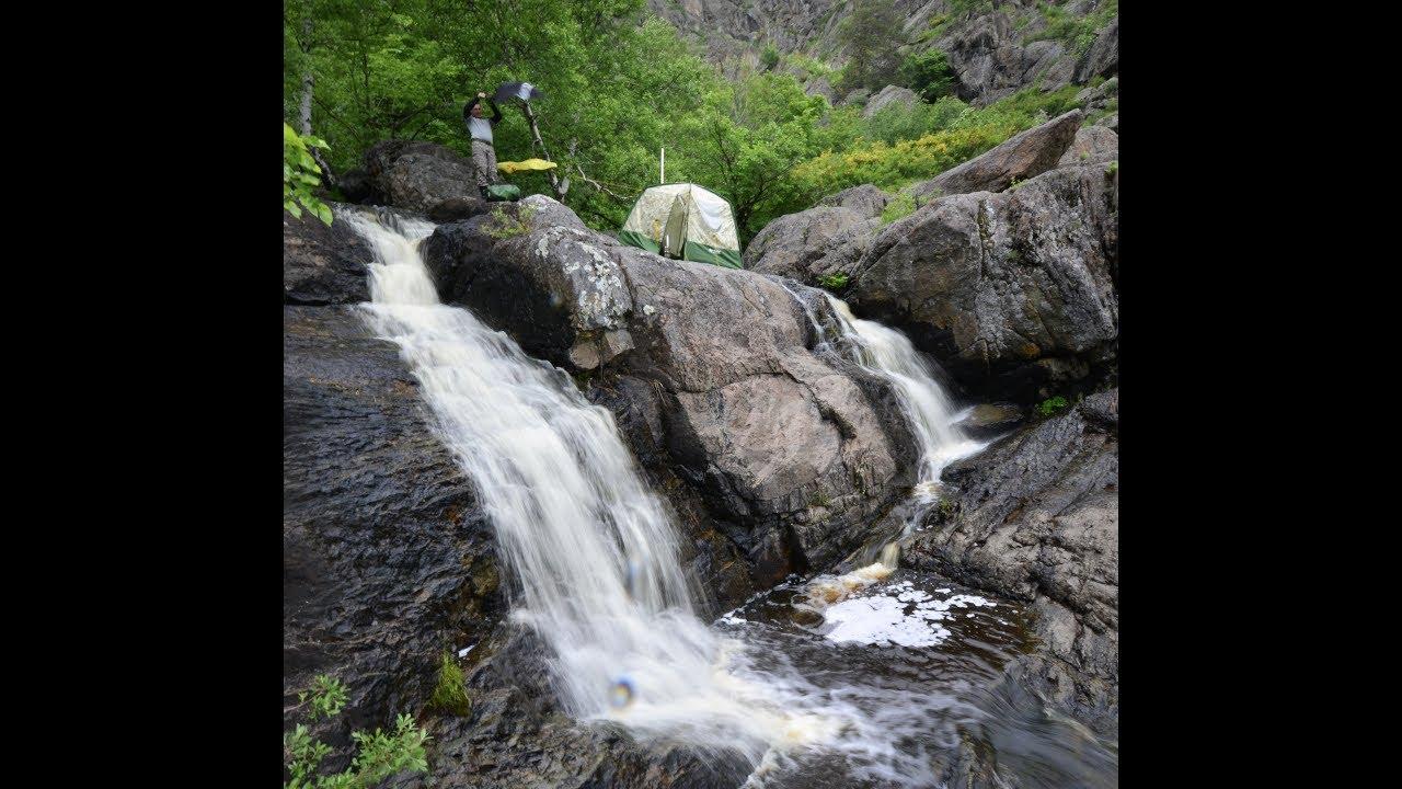 Затащили баню на самый высокий водопад в Башкирии. #Mobiba