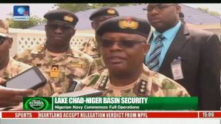 Lake Chad-Niger Basin Security: Nigerian Navy Commences Full Operations