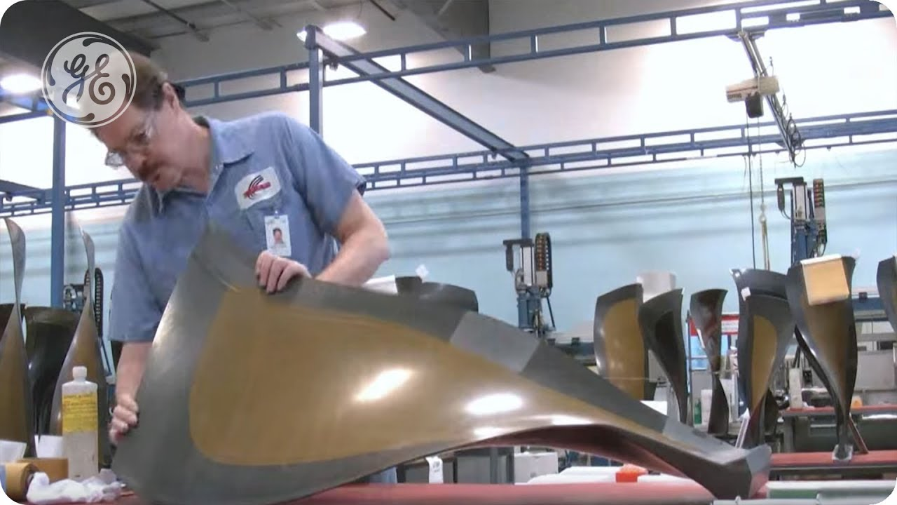 Amazing Composite Fan Blade Production… In High Speed
