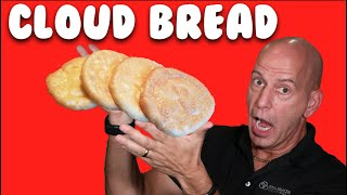 CLOUD BREAD:  A KETO RECIPE FOR A LOW CARB KETO DIET!!!