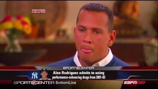 ESPN Sportscenter: Alex Rodriguez Interviewed by Peter Gammons Part 1/4
