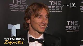 Ganarle a Messi y Ronaldo es un orgullo | Premios The Best de la FIFA | Telemundo Deportes