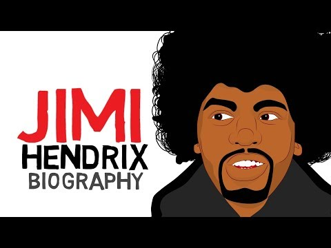 Music History Lesson for Kids - Jimi Hendrix Biography for Students (Educational Videos)