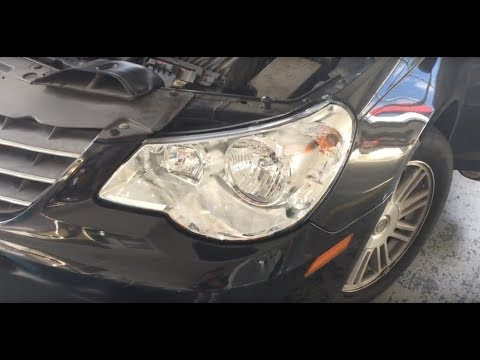 How To Replace Your 2007-2010 Chrysler Sebring Headlights