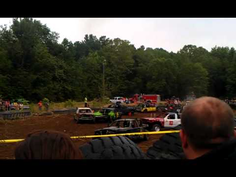 International Demolition Derby - Race Track - La Porte ...