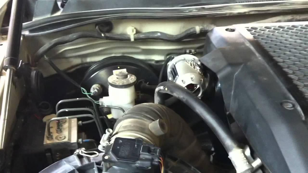 Vigo 3000 4X4 Blow off valve. Hks SQV by street king ...